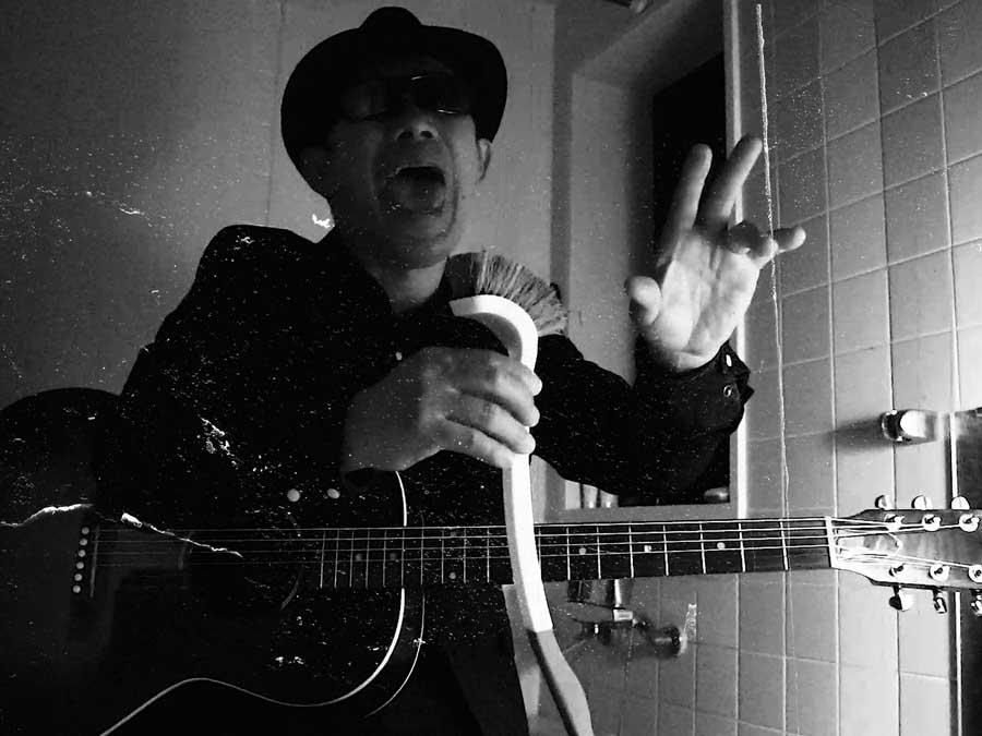 歌い上げる、風呂場〜とジョンソン