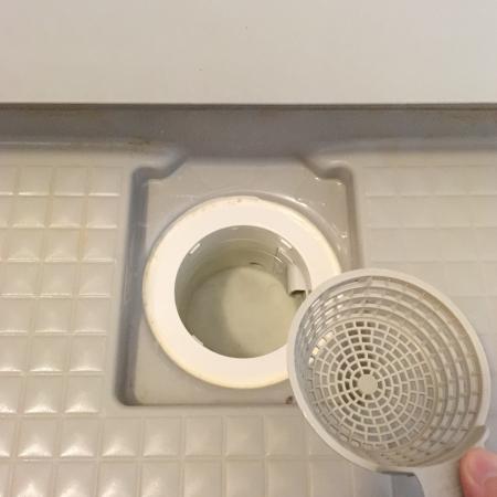 お風呂場の排水口のお掃除3