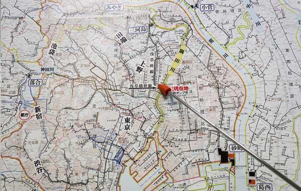 東京都の下水地図