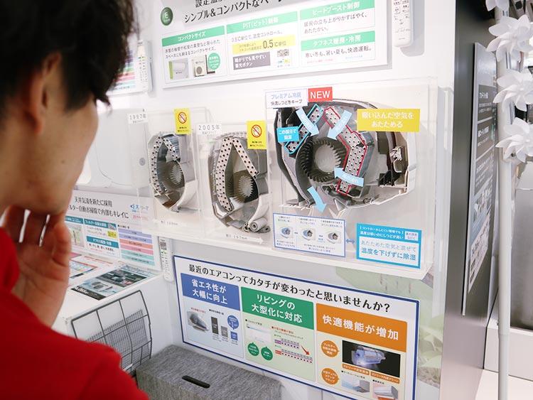フーハ東京|熱交換器の断面図