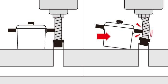 シンク下の収納をきちんとして防臭キャップの外れる原因を回避